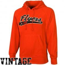 2016 NHL Old Time Hockey Philadelphia Flyers Hudson Pullover Hoodie - Orange