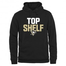 2016 NHL Pittsburgh Penguins Top Shelf Pullover Hoodie - Black