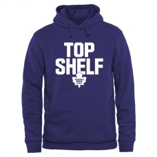 2016 NHL Toronto Maple Leafs Top Shelf Pullover Hoodie - Royal