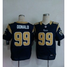 2014 Nike NFL St. Louis Rams 99 Donald blue Elite Jerseys